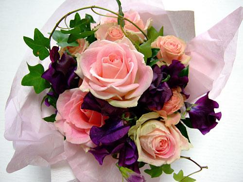 リッカへのお花