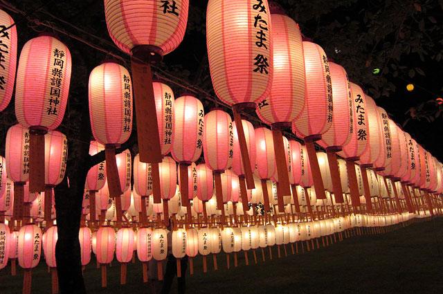 みたま祭 夜景