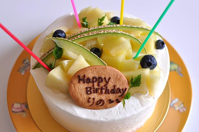 リノのバースデーケーキ