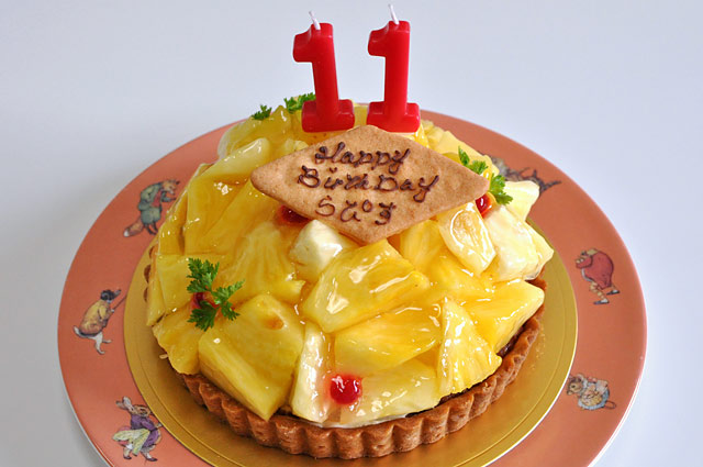 ラピのバースデーケーキ